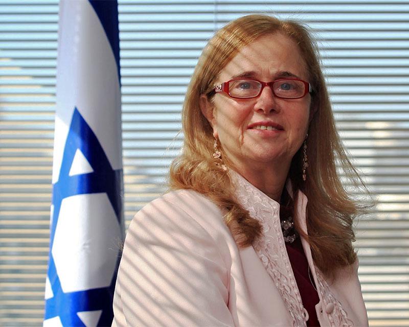 ENTREVISTA A LA EMBAJADORA DEL ESTADO DE ISRAEL EN ARGENTINA, DORIT SHAVIT.   FOTOL: MAXI AMENA