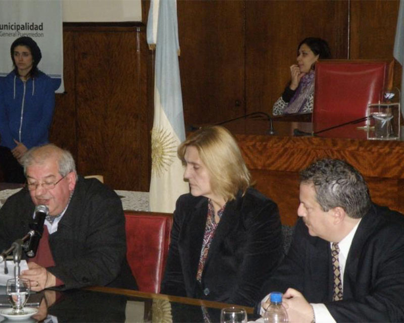 El atentado de AMIA también fue recordado en Mar del Plata)