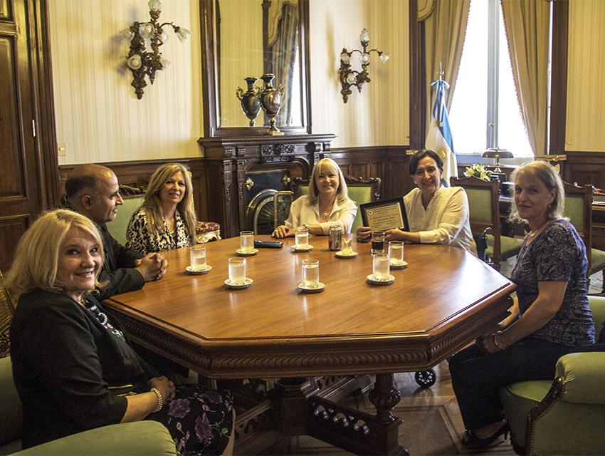 ACIERA Mujer estuvo reunida con la Vicepreside de la Nación