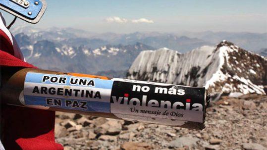RUMBO A LAS 30 CUMBRES DE PAZ POR ARGENTINA - ACIERA