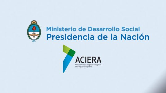 MInisterio de desarrollo social y ACIERA